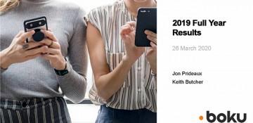 Boku - Full Year Results 2019 analyst presentation