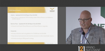 121 Mining, Cape Town - Avesoro Resources - Presentation