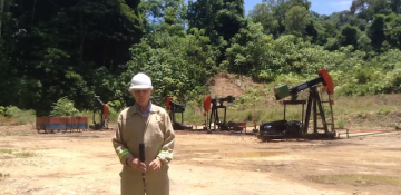 LGO Energy - Goudron Field: Production operations