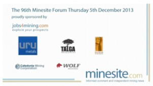 Guest Speaker - The 96th Minesite forum