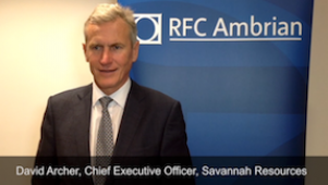 Savannah Resources - Investor day