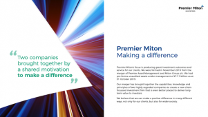 Premier Miton Group - Half Year Results 2020
