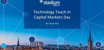 Stadium Group - Capital Markets Day