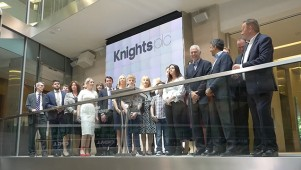 Knights plc - Welcome Ceremony