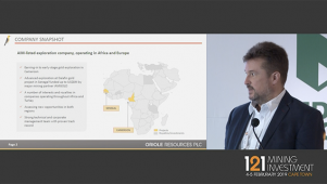 121 Mining, Cape Town - Oriole Resources - Presentation