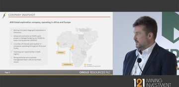 121 Mining, Cape Town - Oriole Resources -...