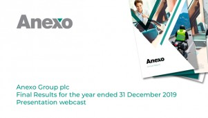 Anexo Group plc - Final Results for the year ended...