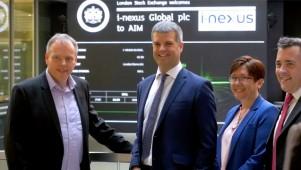 i-nexus Global plc - IPO Ceremony