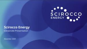 Scirocco Energy - Corporate Launch of Scirocco Energy