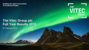 The Vitec Group - 2018 Full Year Results