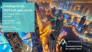 Antofagasta Plc - 2019 Half Year Results Presentation
