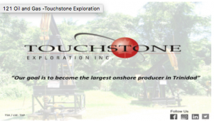 121 Oil and Gas -Touchstone Exploration