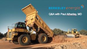 Berkeley Energia - Investor Q&A