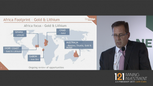 121 Mining, Cape Town - IronRidge Resources - Presentation
