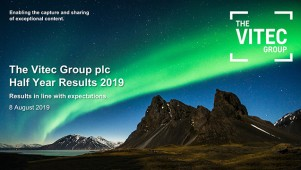 The Vitec Group plc - Half Year Results Presentation 2019