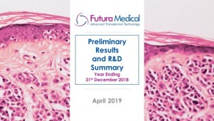 Futura Medical - Preliminary Results and R&D Summary